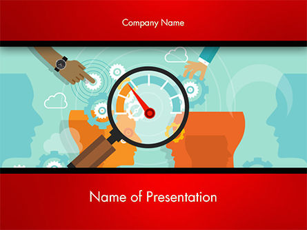 Careers/Industry: Business Benchmarking PowerPoint Template #14760