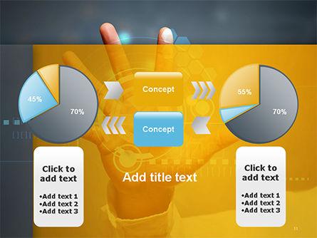 Technology Concept PowerPoint Template Slide 11