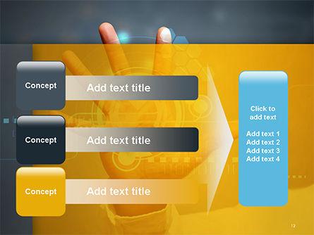 Technology Concept PowerPoint Template Slide 12