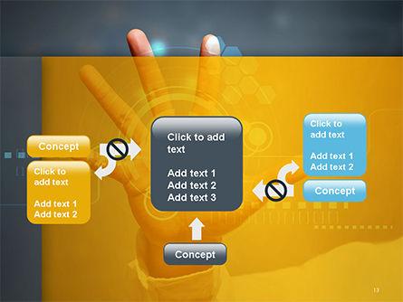 Technology Concept PowerPoint Template Slide 13