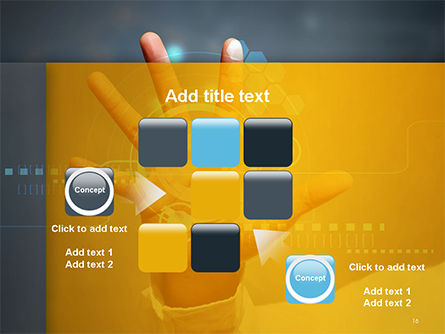 Technology Concept PowerPoint Template Slide 16