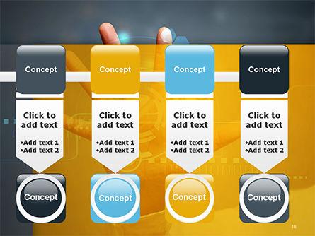 Technology Concept PowerPoint Template Slide 18
