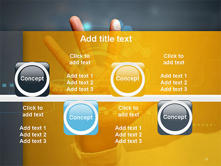Technology Concept PowerPoint Template Slide 19