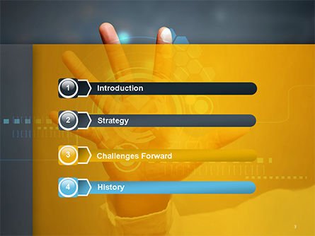 Technology Concept PowerPoint Template Slide 3