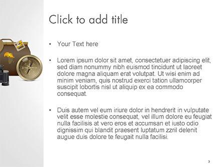 Safari Accessories PowerPoint Template, Slide 3, 14764, Careers/Industry — PoweredTemplate.com
