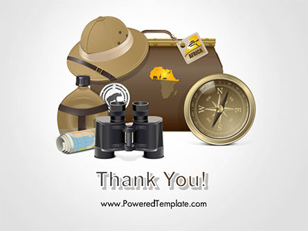 Safari Accessories PowerPoint Template Slide 20