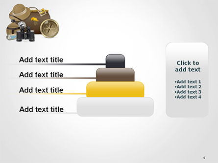 Safari Accessories PowerPoint Template Slide 8