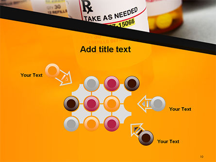 Bottles with Tablets PowerPoint Template Slide 10