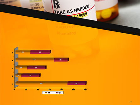 Bottles with Tablets PowerPoint Template Slide 11