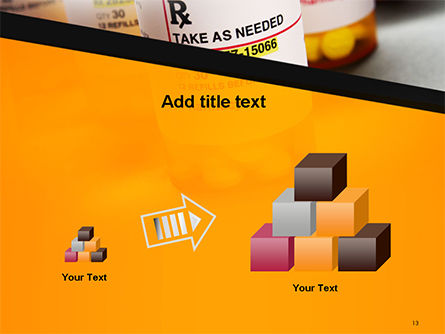 Bottles with Tablets PowerPoint Template Slide 13