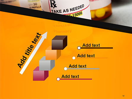 Bottles with Tablets PowerPoint Template Slide 14