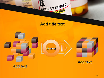 Bottles with Tablets PowerPoint Template Slide 17