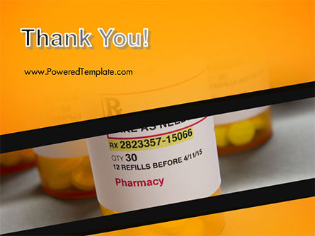 Bottles with Tablets PowerPoint Template Slide 20