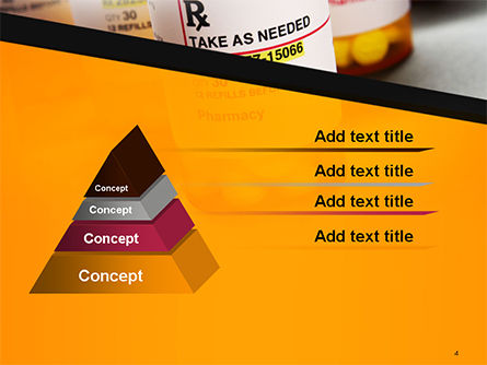 Bottles with Tablets PowerPoint Template Slide 4