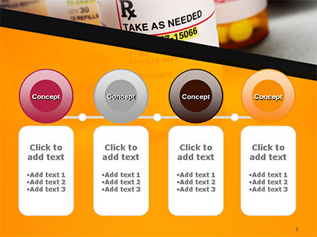 Bottles with Tablets PowerPoint Template Slide 5