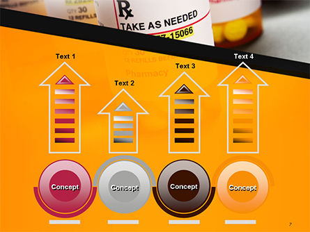Bottles with Tablets PowerPoint Template Slide 7
