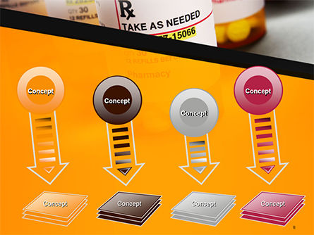 Bottles with Tablets PowerPoint Template Slide 8