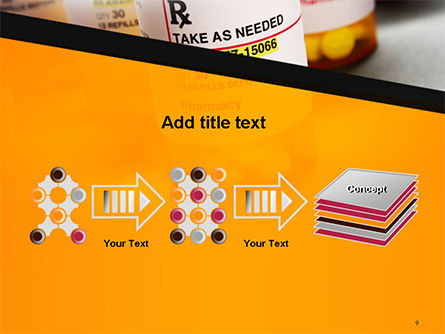 Bottles with Tablets PowerPoint Template Slide 9