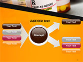 Bottles with Tablets PowerPoint Template#15