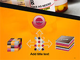 Bottles with Tablets PowerPoint Template#19