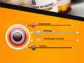 Bottles with Tablets PowerPoint Template#3