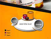 Bottles with Tablets PowerPoint Template#6
