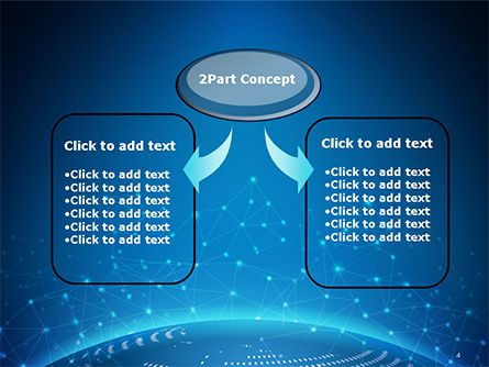 Cyberworld PowerPoint Template, Slide 4, 14770, 3D — PoweredTemplate.com