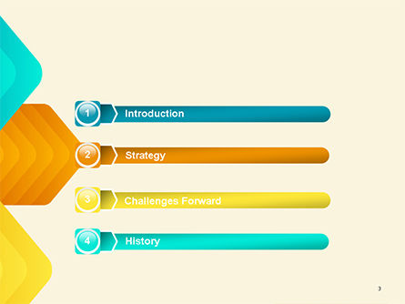 Colorful Arrows PowerPoint Template Slide 3