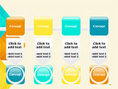 Colorful Arrows PowerPoint Template#18