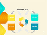 Colorful Arrows PowerPoint Template#6