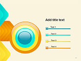 Colorful Arrows PowerPoint Template#9