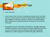 Online Promotion PowerPoint Template#2