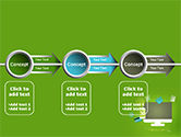 Online Commerce Flat Design Concept PowerPoint Template#11