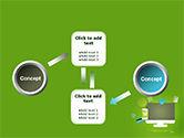 Online Commerce Flat Design Concept PowerPoint Template#19