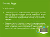 Online Commerce Flat Design Concept PowerPoint Template#2