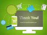 Online Commerce Flat Design Concept PowerPoint Template#20
