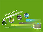 Online Commerce Flat Design Concept PowerPoint Template#9