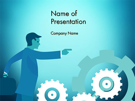 Process Control Concept PowerPoint Template, 14777, Business Concepts — PoweredTemplate.com