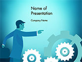 Business Concepts: Process Control Concept PowerPoint Template #14777