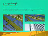 Solar Power Panels on a Field PowerPoint Template#12