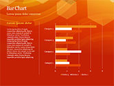 Abstract Orange Bokeh Background PowerPoint Template#25