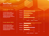 Abstract Orange Bokeh Background PowerPoint Template#26