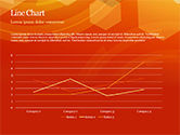 Abstract Orange Bokeh Background PowerPoint Template#27