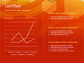 Abstract Orange Bokeh Background PowerPoint Template#28