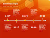 Abstract Orange Bokeh Background PowerPoint Template#29