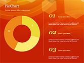 Abstract Orange Bokeh Background PowerPoint Template#33