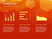 Abstract Orange Bokeh Background PowerPoint Template#34