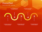 Abstract Orange Bokeh Background PowerPoint Template#38