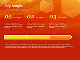 Abstract Orange Bokeh Background PowerPoint Template#41