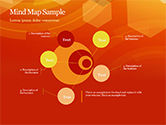 Abstract Orange Bokeh Background PowerPoint Template#43